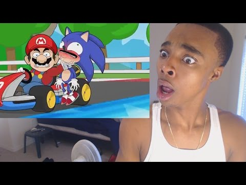 HE SAVAGE! Racist Mario REACTION!