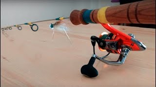 How to build custom Ice Fishing rod. DIY