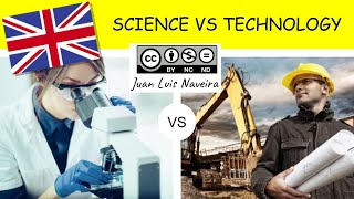 DIFFERENCES BETWEEN SCIENCE AND TECHNOLOGY