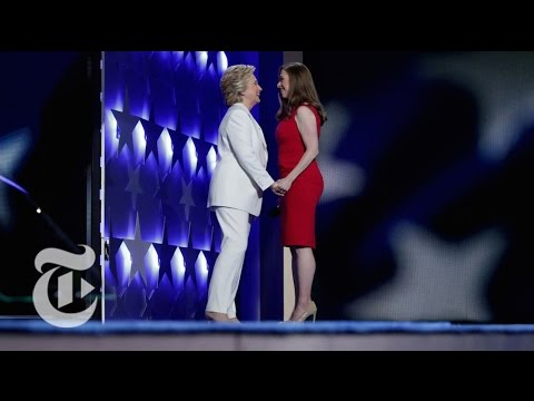 Chelsea Clinton Introduces Her Mother | Democratic Convention | The New York Times