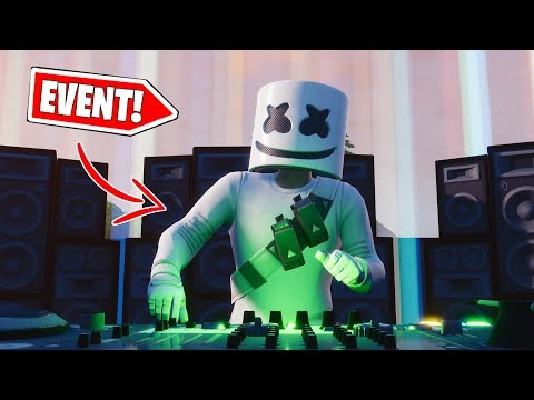 🔴 *NEW* FULL Marshmellow Event in Fortnite (1080p Video Gameplay)