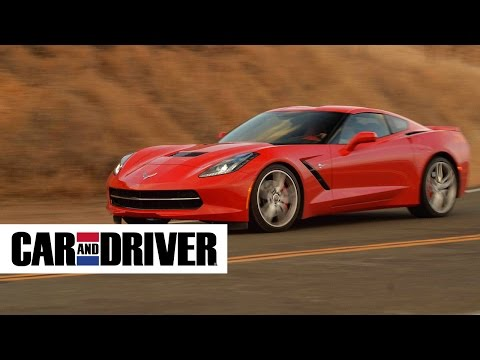 Corvette C7 Stingray by Chevrolet Review in 60 Second – Car and Driver