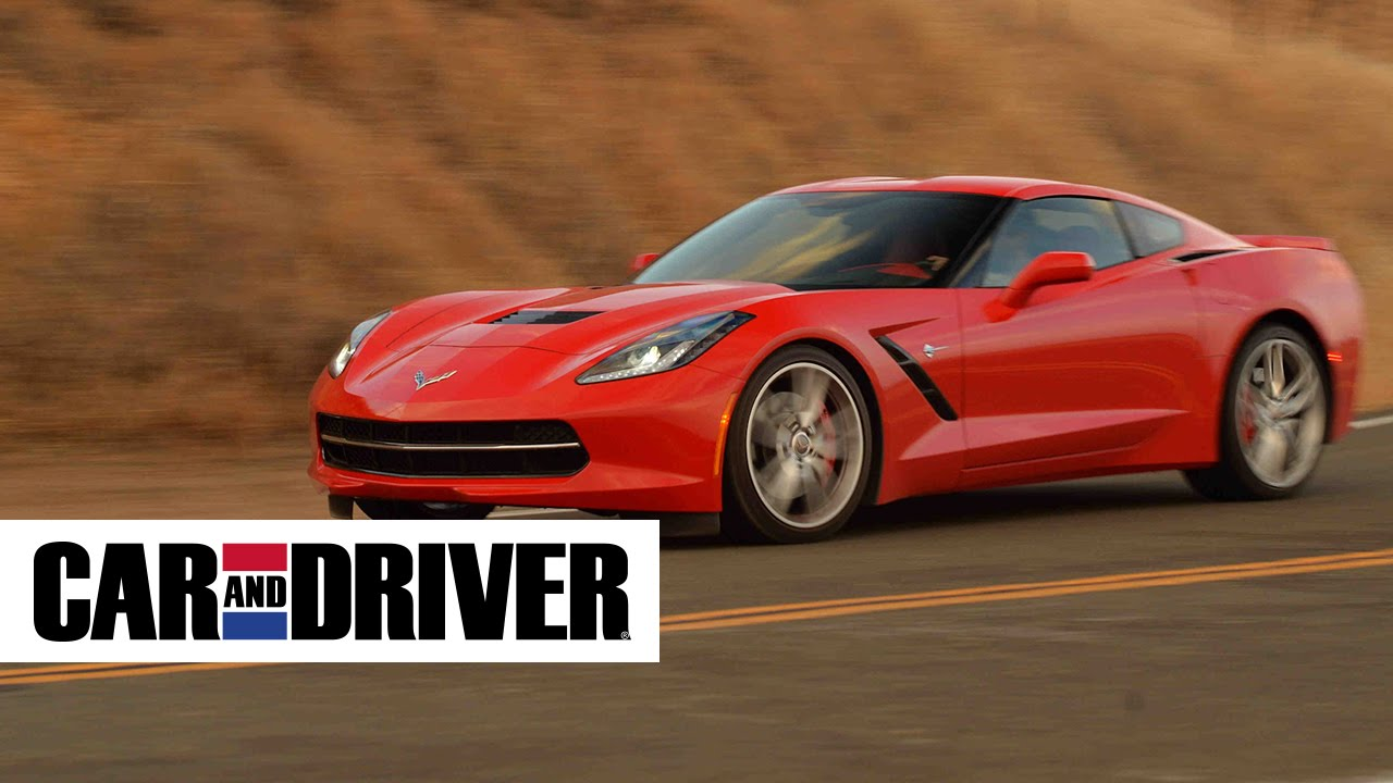 Corvette c7 stingray by chevrolet review in 60 second car and driver