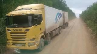Рейс Николаевск-на-Амуре - Многовершинный. IVECO-AMT Trakker