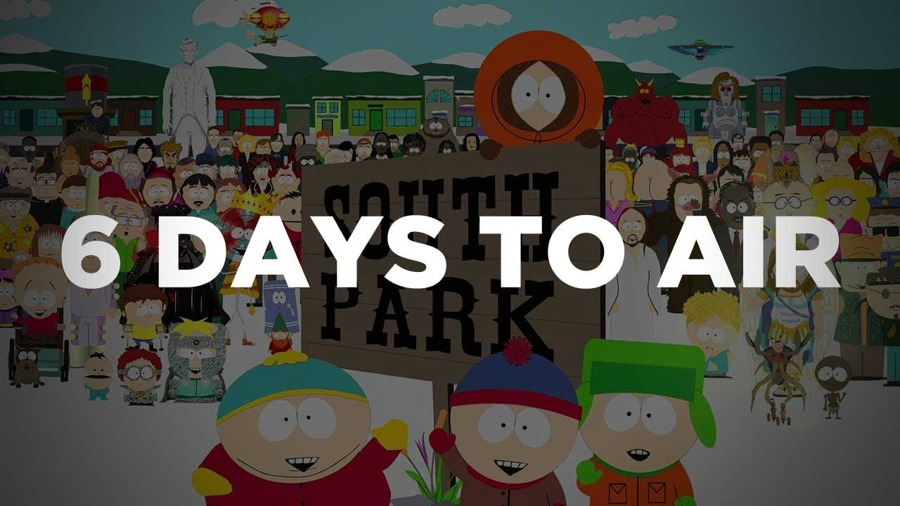 6 Days To Air The Making Of South Park Comedy Central Docu Review You