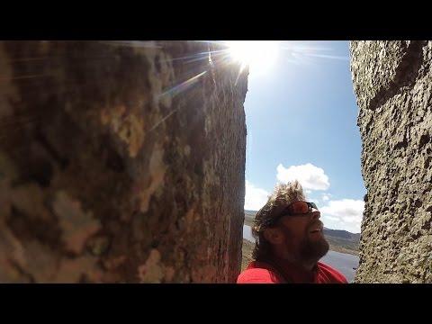 Family Cragging in Snowdonia (Trawsfynydd Reservoir)