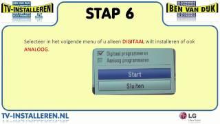 LG 42LE5400 TV Installeren - LG TV Installeren - Ci+ Installeren