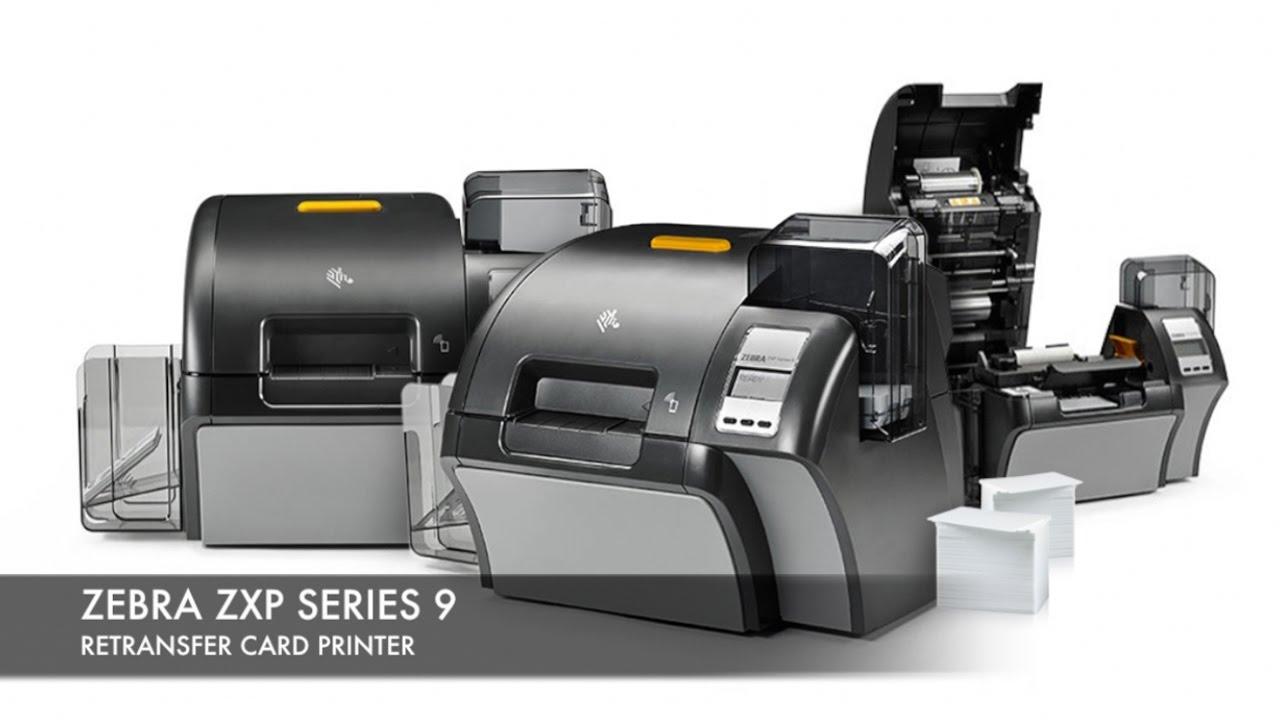 Zebra ZXP Series 9 Card Printer