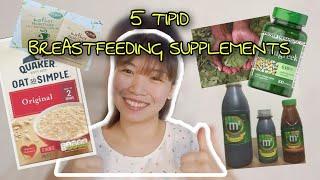 5 TIPID BREASTFEEDING SUPPLEMENTS |Jeane Vilaray
