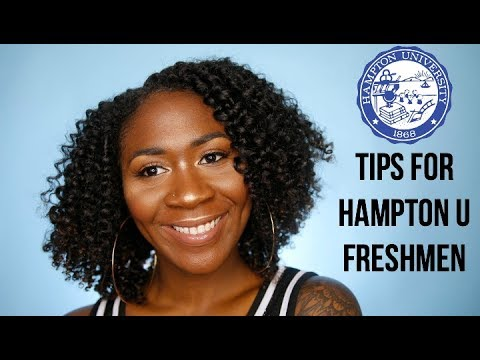 Advice To Hampton University Freshmen