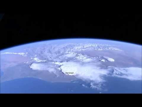 ISS Morocco View