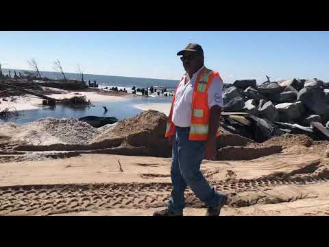 Progress on Cape San Blas Rd