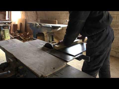 Изготовление деревянной двери / Wooden door production