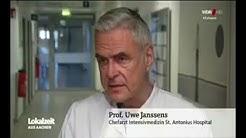 WDR Lokalzeit Aachen   Leere Betten trotz Corona Krise