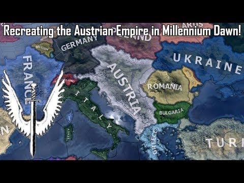 Recreating the Austrian Empire! (Hoi4 Speedrun/Timelapse)