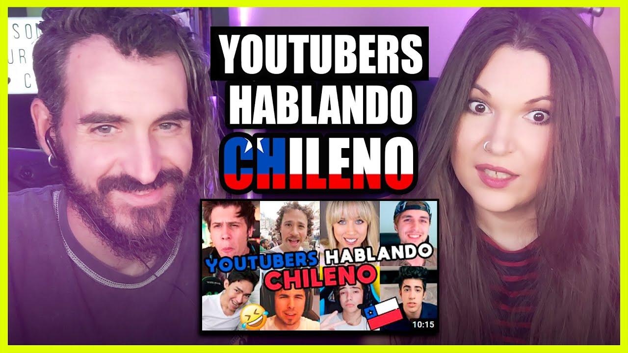 👉 Españoles REACCIONAN a YOUTUBERS HABLANDO CHILENO de MATE CON MOTE | Somos Curiosos