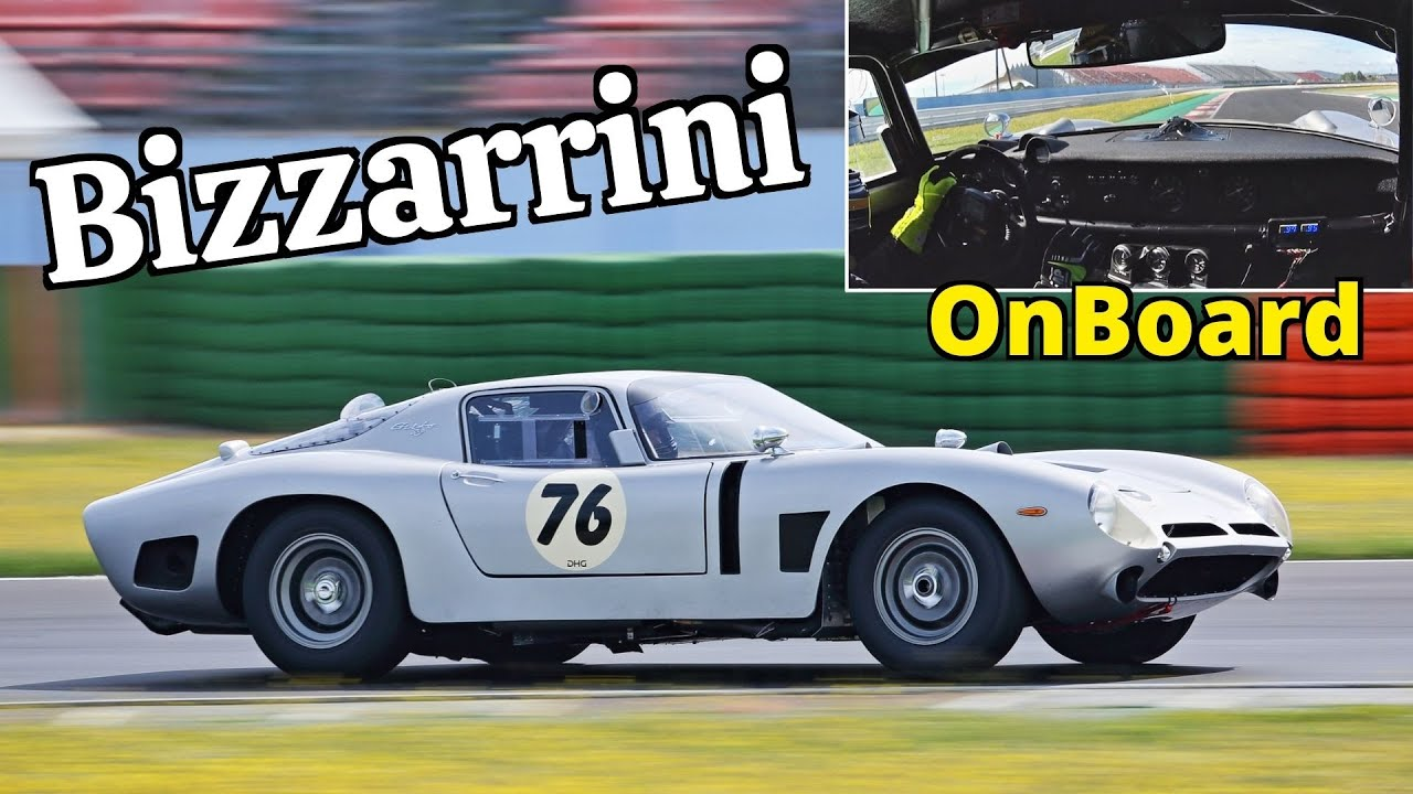 Bizzarrini Grifo 5300 GT by DHG Racing - Oliver Hart OnBoard at Kateyama Misano TestDays