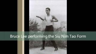 Bruce Lee performs WingChun Form: Siu Nim Tao (HD)