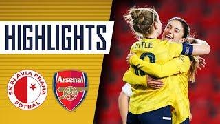 HIGHLIGHTS | Slavia Prague 2-5 Arsenal Women | Champions League