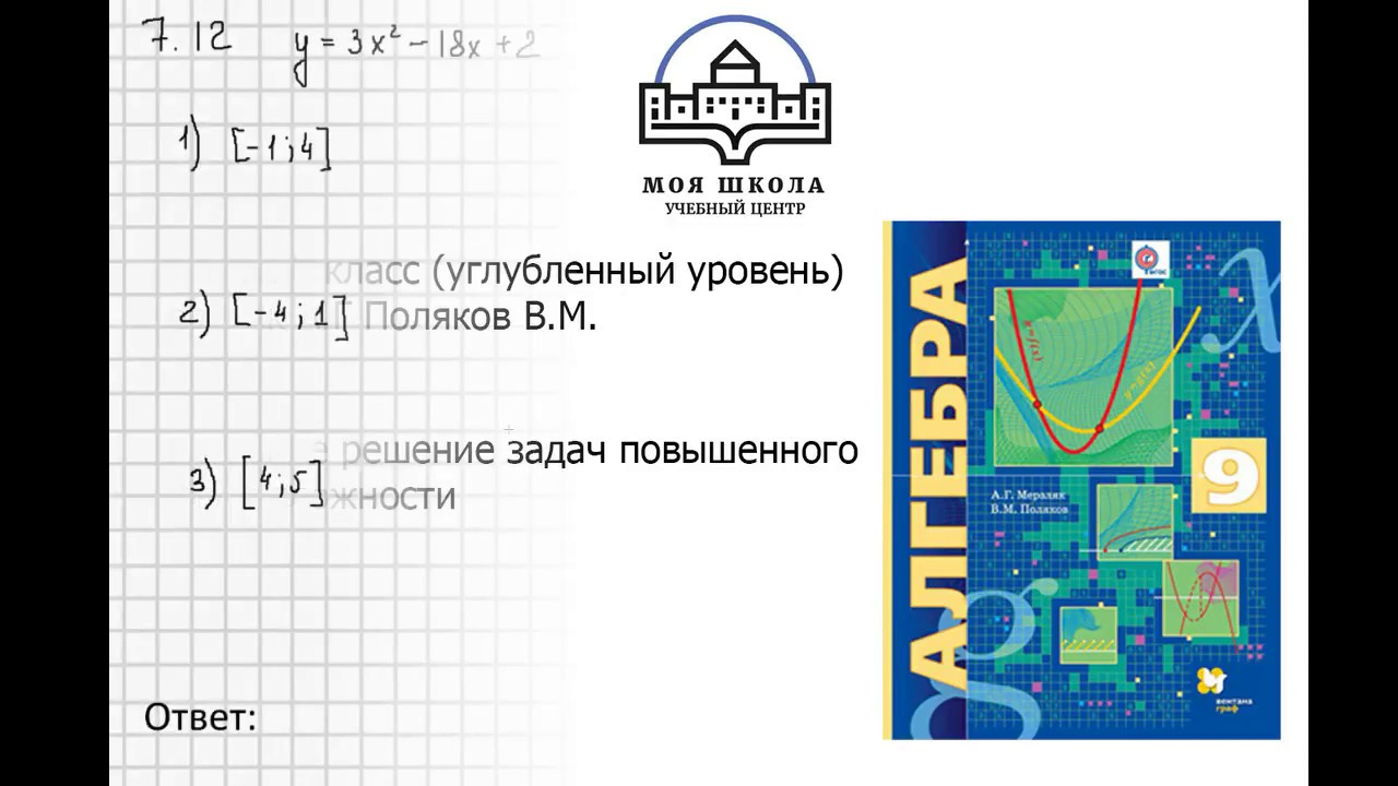 Задача 6.2 6.5 6.7 6.9 6.11 6.13 6.15, Алгебра 9 класс .