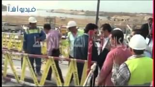تفقد الدكتور حسام مغازى وزير الموارد المائية والرى لمشروع سد وادي الشيح