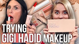 Unboxing GIGI HADID x Maybelline New Makeup Line! (Beauty Break) thumbnail