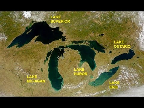 Mandela Effect: The Great Lakes