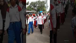 Gita Bahana DrumBand Mts Negeri Gowa PARADE 12 Agustus 2017