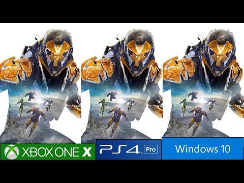 Anthem - PS4 Pro vs Xbox One X vs PC Graphics Comparison Along With FPS Test, E3 2017 Vs Final Build