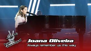 "Baixar Joana Oliveira - ""Always remember us this way""   Prova Cega   The Voice Portugal"