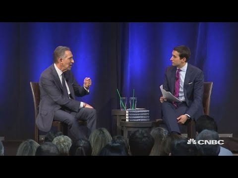 Former Starbucks CEO Howard Schultz sits down with Andrew Ross Sorkin