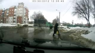 весна 2012, Саранск и его дороги, или их отсутствие.