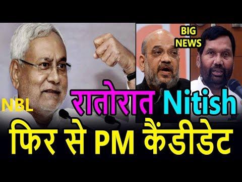 रातोंरात बदली Bihar की राजनीति! Nitish kumar फिर बने PM Candidate