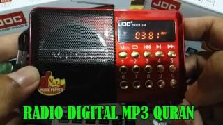 RADIO DIGITAL MP3 QURAN
