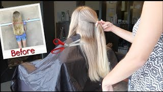 CHOPPING OFF HER HAIR! 😱