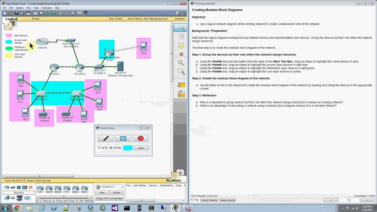 packet tracer d4 313 create modular block diagrams [ 1280 x 720 Pixel ]