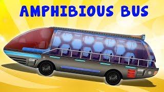 xe buýt lội nước | nhac thieu nhi hay nhất | Amphibious Bus | Kids Tv Channel Vietnam