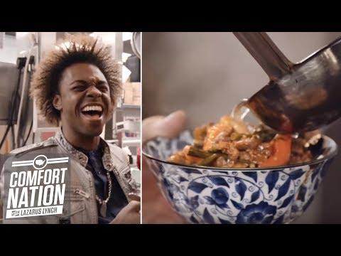 Comfort Nation: Uzbek Noodle Stew (Lagman Stew) | Food Network