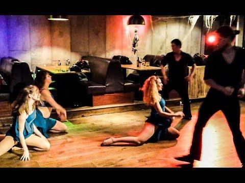 Bachata Obsesión Dance Team & Andrea Gallego Ortiz, Halloween Party,  Borgeous - Invincible