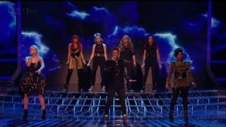 Finalists Hold On together - The X Factor 2011 Live Semi-Final Results - itv.com/xfactor