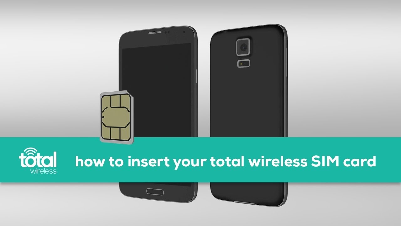 How To Insert Your Total Wireless SIM Card