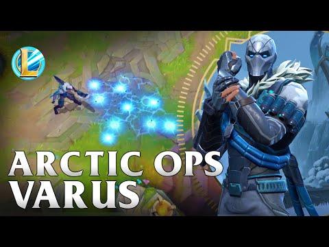 Arctic Ops Varus Skin Spotlight - WILDRIFT