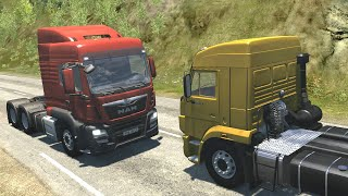 Bus and Truck Crashes 4   BeamNG Drive