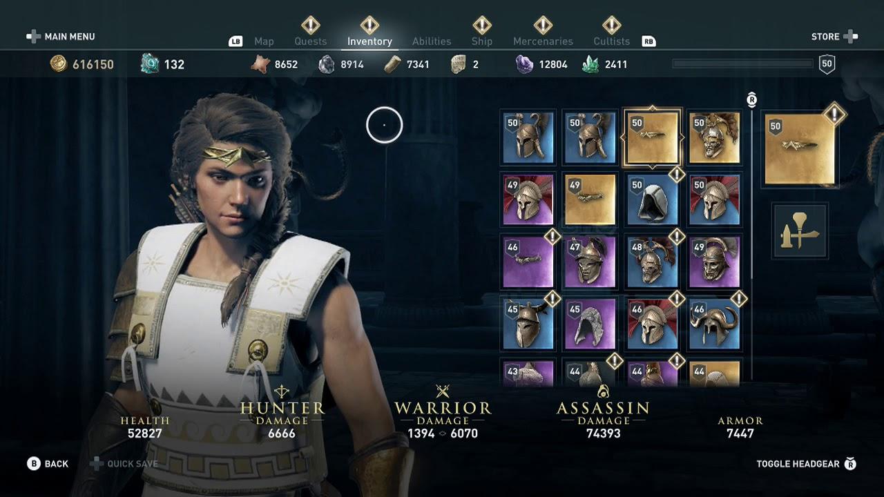 How To Legendary Wonder Woman Headband Amazonian Circlet Ac Odyssey Pallas Silencer Cultist Youtube