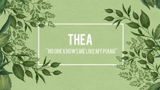 Thea performing No One Knows Me Like My Piano (Sampha)