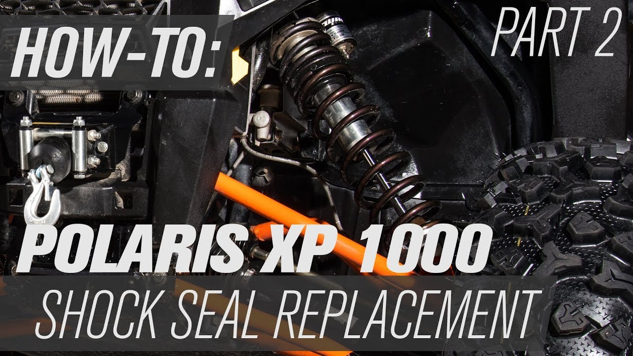 How To Replace The Shock Seal On A Polaris RZR XP1000 | Part 2