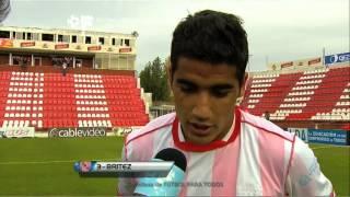 """Britez: """"Lo soñé de chiquito a este partido"""". Unión 1 Colón 0. Torneo Final 2013"""