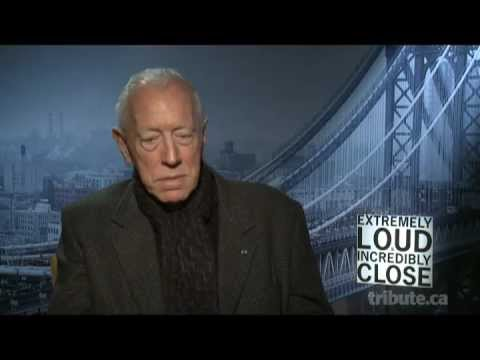 Max von Sydow - Extremely Loud & Incredibly Close Interview with Tribute