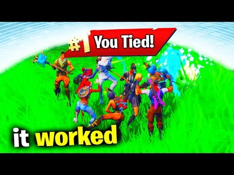 Can You Tie In Fortnite?