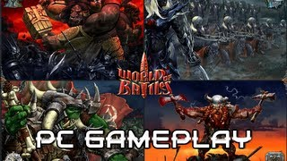 World of Battles Morningstar - Gameplay PC HD